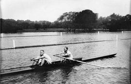 Beresford and Killick training at Henley