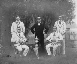 TRC crew in the Wyfold Challenge Cup 1908