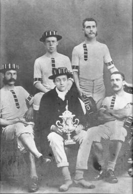 TRC crew in the Wyfold Challenge Cup 1871