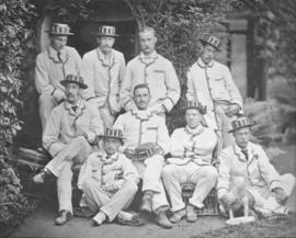 TRC crew in the Grand Challenge Cup 1878