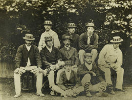 TRC crew in the Thames Challenge Cup 1873