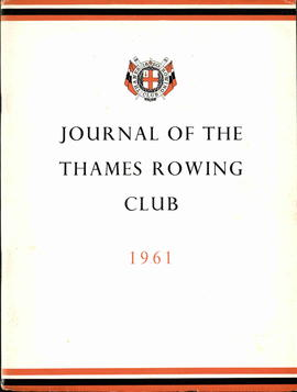 Journal of the Thames Rowing Club 1961