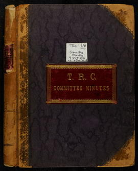 Committee Minutes 1911-1919