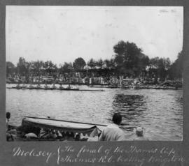 Molesey 1920 - final of the Thames Cup, TRC beating Kingston