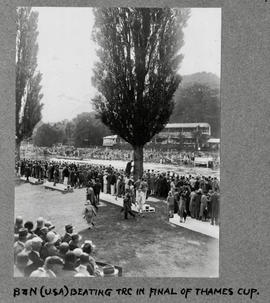 Henley 1929 Thames Cup Browne & Nichols School, USA beating TRC