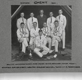1931 Ghent winning eight