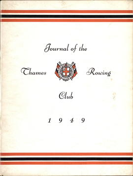 Journal of the Thames Rowing Club 1949