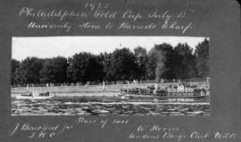 1925 Philadephia Gold Cup - start of race