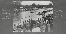 Henley 1922 - Grand Challenge Cup heat 8, another view of the race