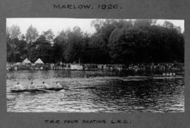 Marlow 1926 - TRC four beating London