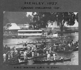 Henley 1927 - Grand Challenge Cup, TRC beating LRC in final