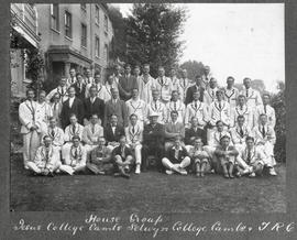 Henley 1924 - House group: Jesus College Cambridge, Selwyn College Cambridge and TRC