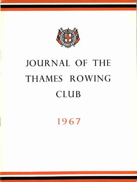 Journal of the Thames Rowing Club 1967