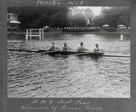 Marlow 1925 - TRC first four, winner of senior fours