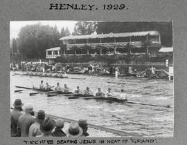 Henley 1929 Grand TRC beating Jesus