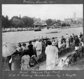 Molesey 1925 - Final Thames Cup fours, TRC beating Twickenham