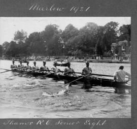 Marlow 1921 - Thames RC senior eight