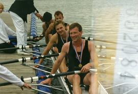 Thames and UL - Gold medallists in Lightweight Men's Quadruple Sculls