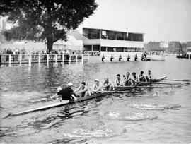 TRC crew in the Grand Challenge Cup 1959 training at Henley