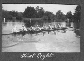 Henley 1924 - first eight training