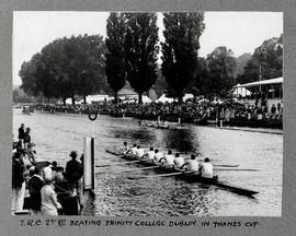 Henley 1928 Thames Cup TRC beating Trinity College Dublin