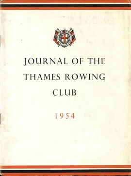 Journal of the Thames Rowing Club 1954