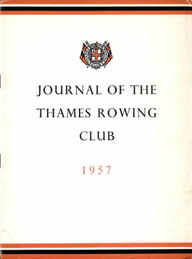 Journal of the Thames Rowing Club 1957