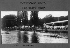 Henley 1927 - Wyfold Cup, Thames winning