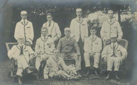 TRC crew in the Thames Challenge Cup 1905