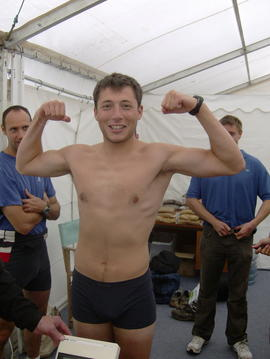 Federico Ucci at Henley weigh-in