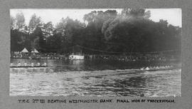 Marlow 1928 - TRC 2nd VIII beating Westminster Bank