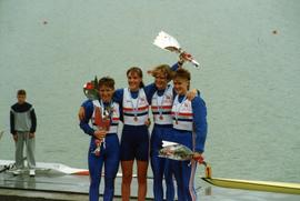 Gold medallists in Lightweight Women's Coxless Fours