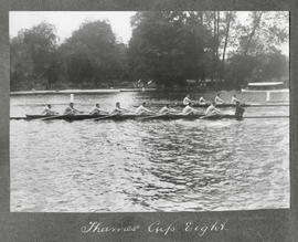 Henley 1925 - Thames Cup eight training
