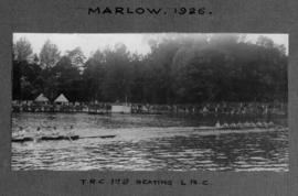 Marlow 1926 - TRC first eight beating London