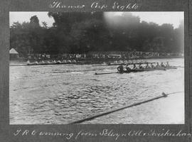 Marlow 1924 - Thames Cup, TRC winning from Selwyn College and Twickenham