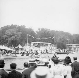 Royal Barge of George V and Queen Mary at Henley