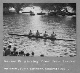 Senior IV winning final from London