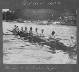 Marlow 1922 - Thames RC senior eight