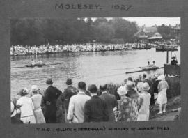 Molesey 1927 - TRC (Killick and Debenham), winners of senior pairs
