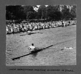 Henley 1926 - Jack Beresford beating Goddard in final