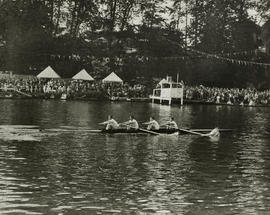 TRC crew in the Stewards' Challenge Cup 1948