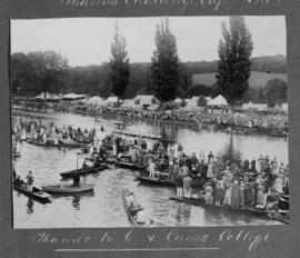 Henley 1920 - Thames Cup final, TRC vs Caius