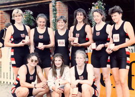 Henley Women's Regatta Club VIII winners 1992