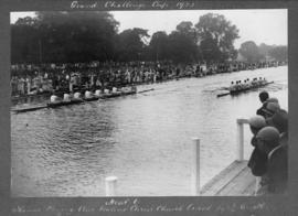 Henley 1925 - Grand Challenge Cup, TRC beating Christ Church Oxford by 1/4 length
