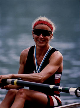 Sue Key at 1992 World Championships
