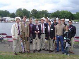 Members of the 2005 Henley squad