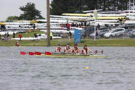 Winners JW16 Quadruple Sculls