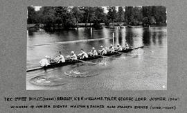 Henley 1930 Thames Cup paddling