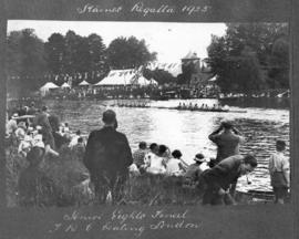 Staines 1925 - Senior eights final, TRC beating London