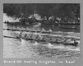 Grand VIII beating Kingston in heat